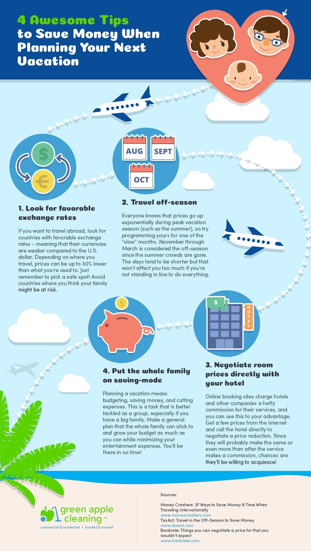 4 Awesome Tips to Save Money When Planning Your Next Vacation
