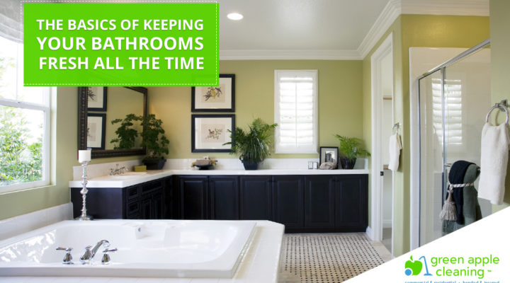 Green Apple Cleaning - The Basics Of Keeping Your Bathrooms Fresh All The Time